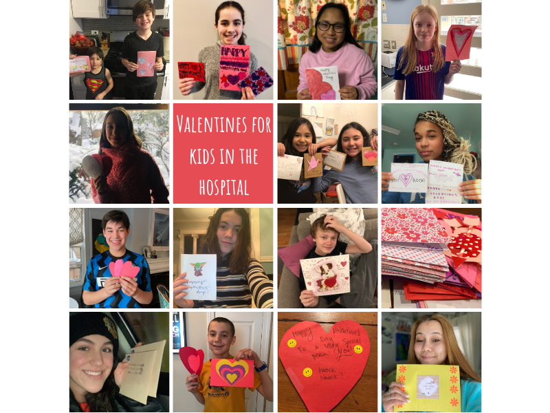 Valentines for Hospitalized Kids