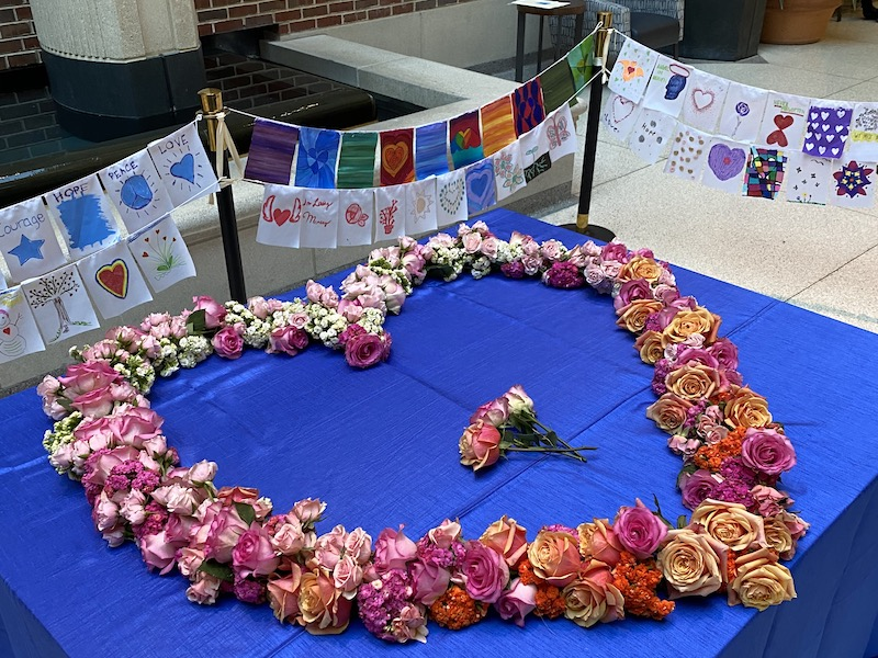 Floral Heart Project