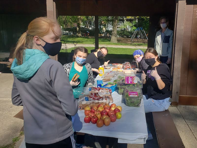 Lunches for Beth Emet Soup Kitchen
